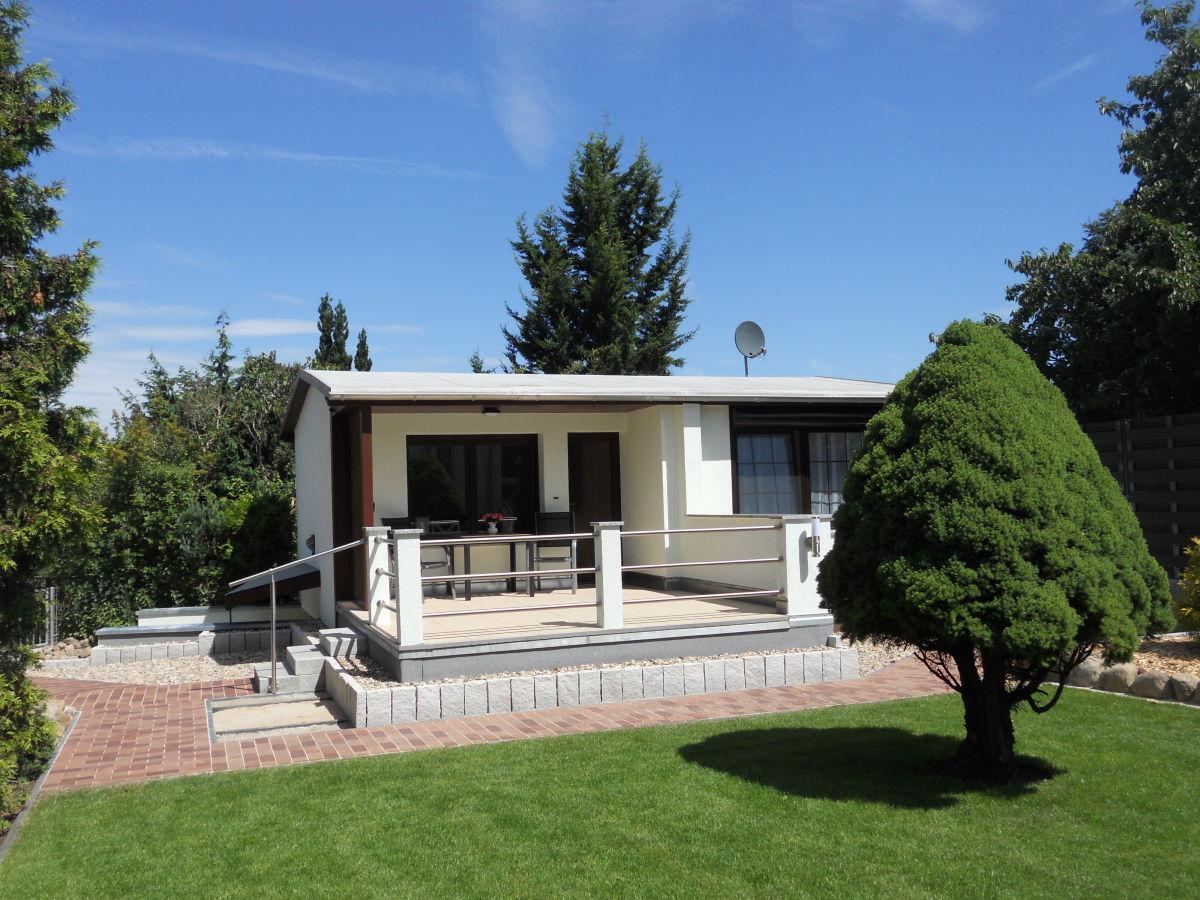 Ferienhaus 5 mit Terrasse, Ferienhäuser Vorwachs in Goyatz am Schwielochsee