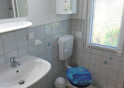 Bad im Ferienhaus 1, Ferienhäuser Vorwachs in Goyatz am Schwielochsee