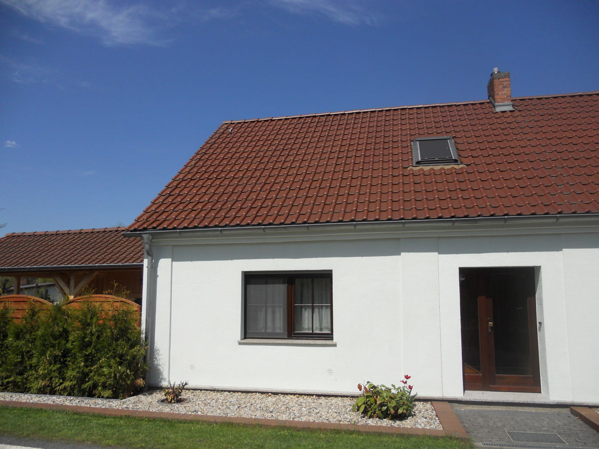 Eingang Ferienhaus 3, Ferienhäuser Vorwachs in Goyatz am Schwielochsee