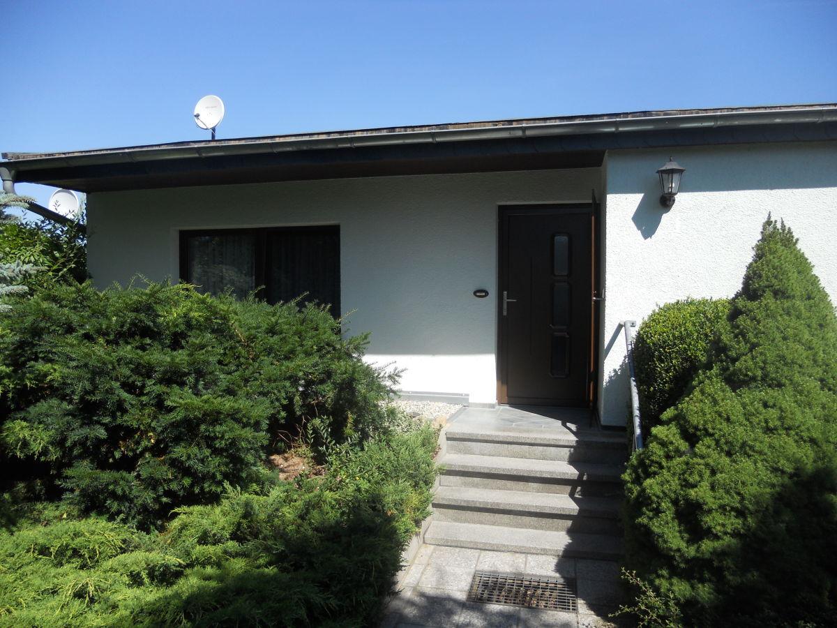 Eingang Ferienhaus 1, Ferienhäuser Vorwachs in Goyatz am Schwielochsee